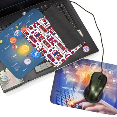 Image of 2 in 1 Screen Cleaners and Mouse Mats